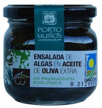 Porto Muiños Ensalada de Algas en Aceite de Oliva Bio 150g