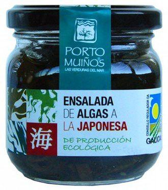 Porto Muiños Ensalada de Algas a la Japonesa Bio 150g