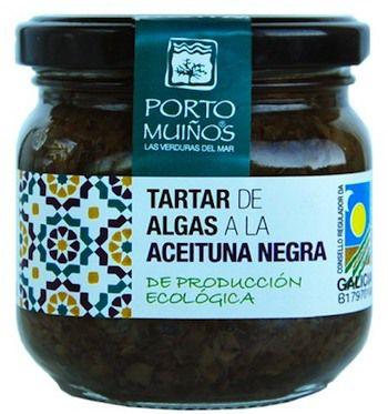 Porto Muiños Tartar de Algas a la Aceituna Negra Bio 150g