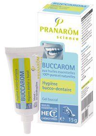 Pranarom Buccarom gel bucal 15g
