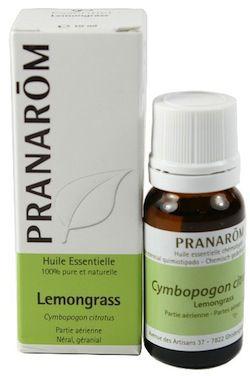 Pranarom Lemongrass Aceite Esencial 10ml