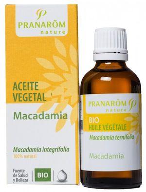 Pranarom Macadamia Aceite Vegetal BIO 50ml