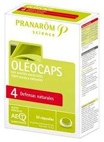 Pranarom Oleocaps 4 Defensas Naturales 30 cápsulas