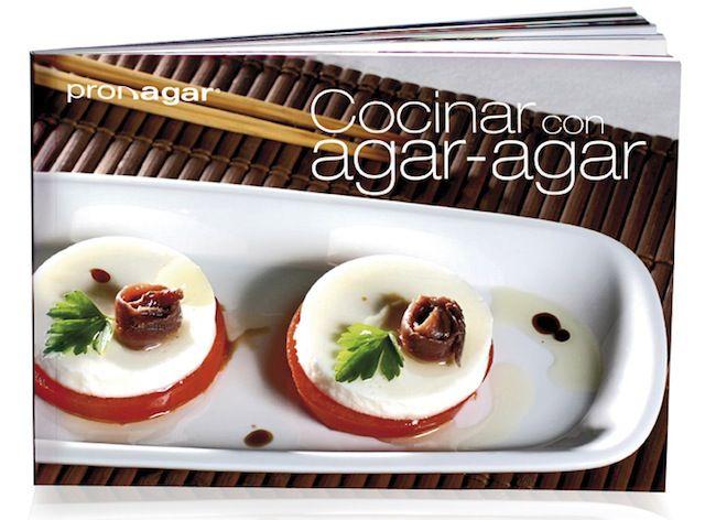 Pronagar Libro de Cocina con Agar-Agar