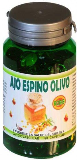 Robis Ajo Espino Olivo 90 cápsulas