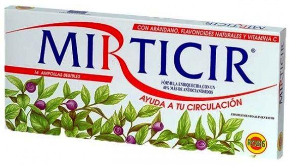Robis Mirticir 14 ampollas