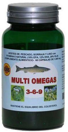 Robis Multi Omegas 3 6 9 60 cápsulas