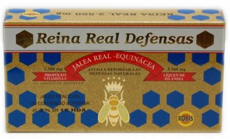 Robis Reina Real Defensas 20 ampollas