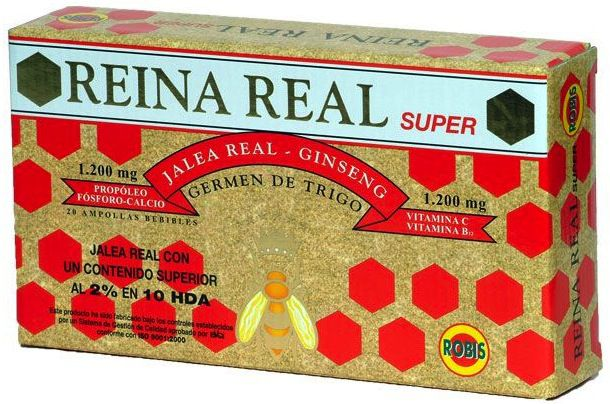 Robis Reina Real Super 20 ampollas
