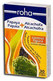 Roha Papaya y Alcachofa 30 grageas