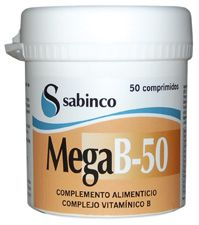Sabinco Mega B 50 50 comprimidos
