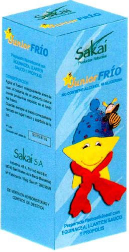 Sakai Junior Frio jarabe 250ml