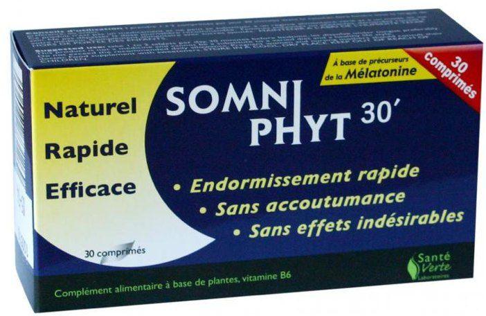Sante Verte Somniphyt 30' 30 comprimidos