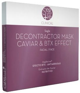 Segle Clinical Decontractor Mask Caviar y BTX Effect 3 sobres
