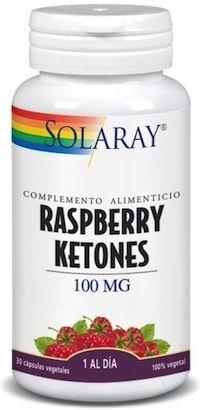 Solaray Raspberry Ketones - Cetonas de Frambuesa 30 cápsulas