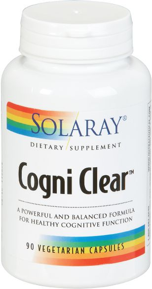 Solaray Cogni Clear 90 cápsulas