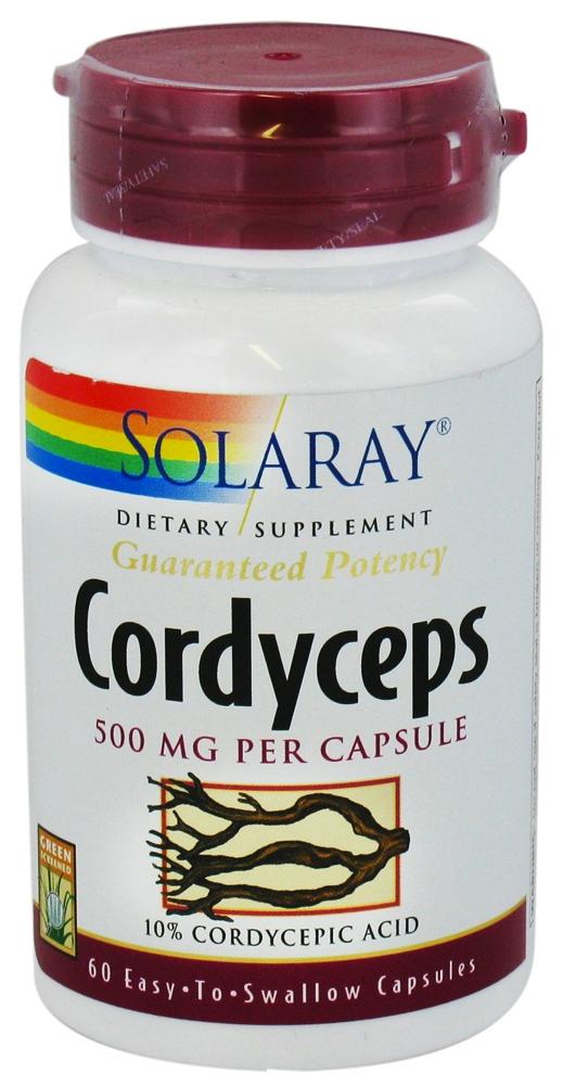 Solaray Cordyceps 60 cápsulas
