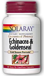 Solaray Equinacea - Sello de Oro 60 cápsulas