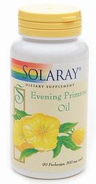 Solaray Evening Primrose Oil - Onagra 90 cápsulas