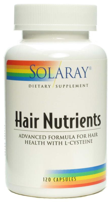 Solaray Hair Nutrients 120 cápsulas