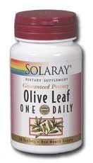 Solaray Olivo Hoja 30 comprimidos