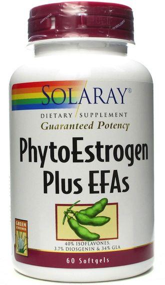 Solaray Phytoestrogen Plus 60 capsulas