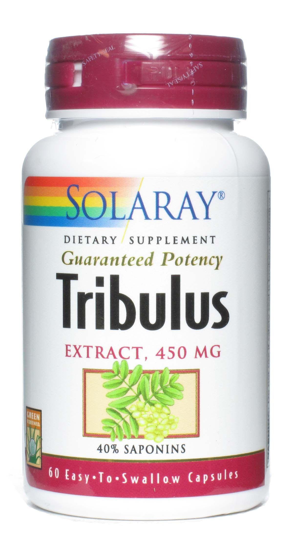Solaray Tribulus 60 cápsulas
