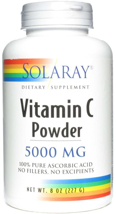 Solaray Vitamina C polvo 227g