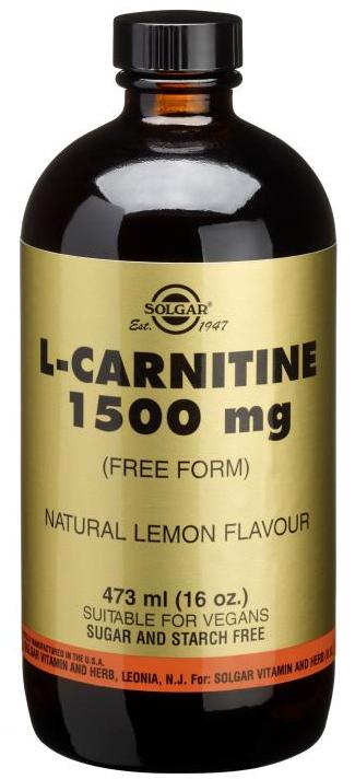 Solgar L-Carnitina Liquida 1500 mg  473ml