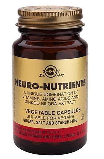 Solgar Neuro Nutrientes 60 cápsulas