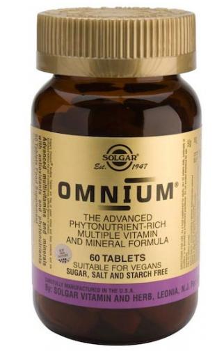 Solgar Omnium 60 comprimidos