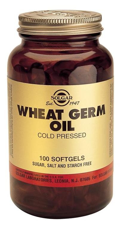 Solgar Aceite de Germen de Trigo 100 cápsulas