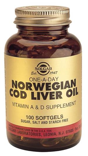 Solgar Aceite de Hígado de Bacalao 100 cápsulas