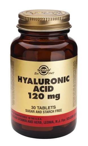 Solgar Ácido Hialurónico 120 mg 30 comprimidos