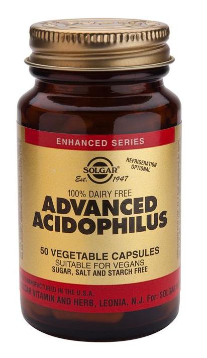 Solgar Acidophilus Avanzado 50 cápsulas