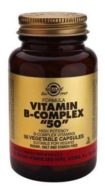 Solgar Vitamina B-Complex 50 50 comprimidos