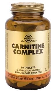 Solgar Carnitina Complex 60 comprimidos