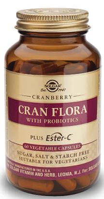 Solgar Cran Flora 60 cápsulas
