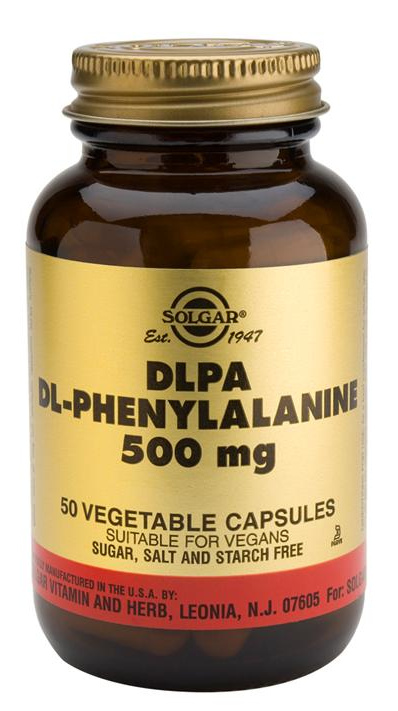 Solgar DLPA 500 mg 50 cápsulas
