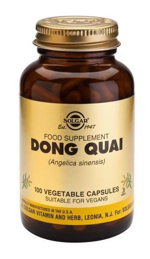 Solgar Dong Quai 100 cápsulas
