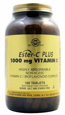 Solgar Ester C Plus 1000 mg 180 comprimidos