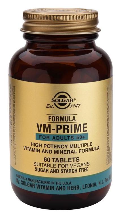 Solgar Fórmula VM Prime 60 comprimidos