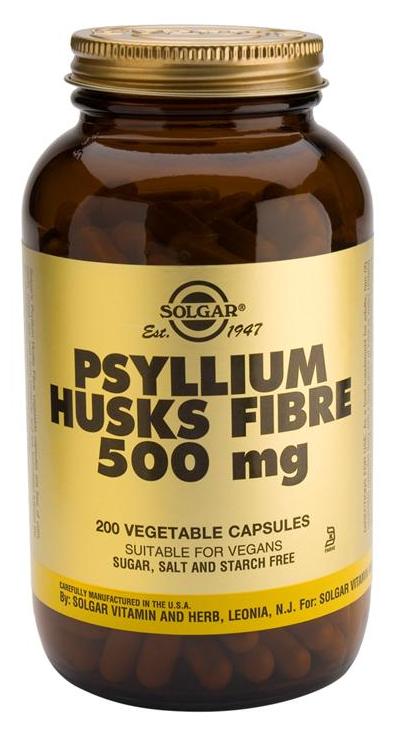 Solgar Fibra de cáscaras de Psyllium 200 cápsulas