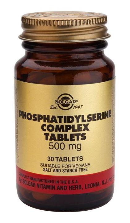 Solgar Fosfatidil Serina Complex 30 comprimidos