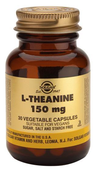 Solgar L-Teanina 150 mg 30 cápsulas
