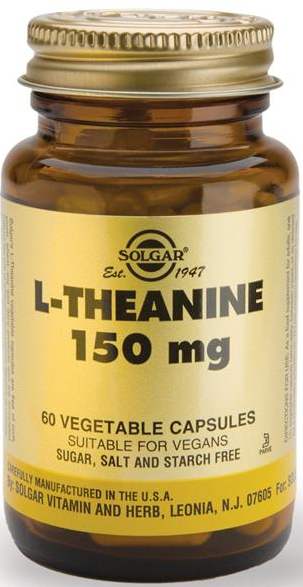 Solgar L-Teanina 150 mg 60 cápsulas