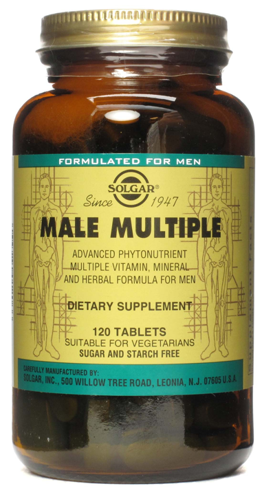Solgar Male Multiple 120 comprimidos