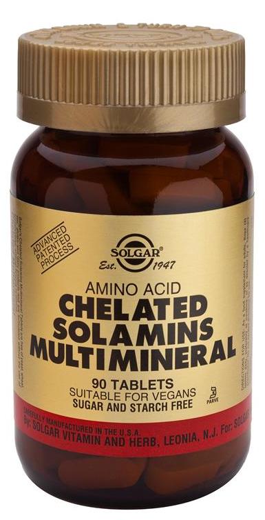 Solgar Multimineral Solamins 90 comprimidos