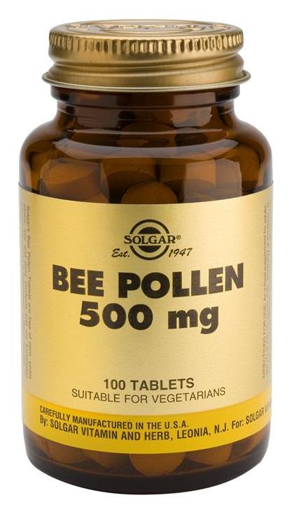 Solgar Polen de Abeja 100 comprimidos