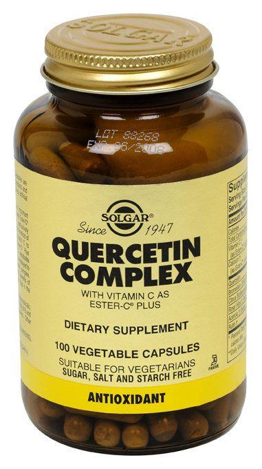 Solgar Quercitina Complex 100 cápsulas